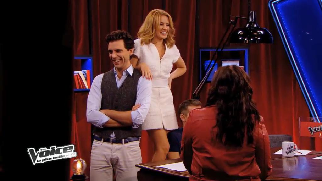 Kylie Minogue fait un passage remarqué dans The Voice