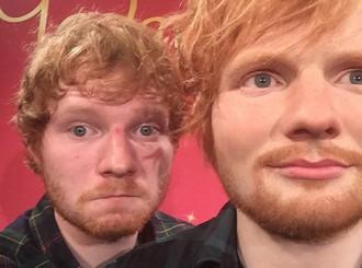 Ed Sheeran : Selfie avec son double !