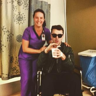 Sam Smith après son opération