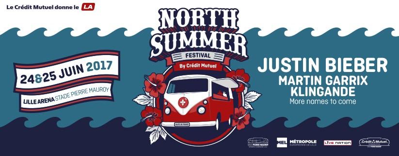 Justin Bieber à l'affiche du North Summer Festival