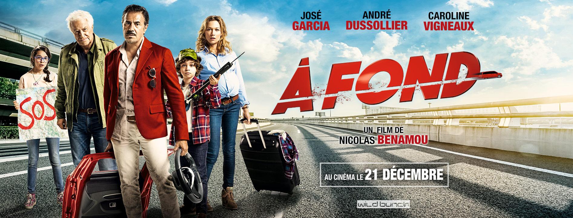 A Fond : Gagne tes places pour le film avec José Garcia