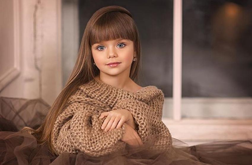 Âgée de six ans, elle est élue comme étant la plus belle enfant au monde !