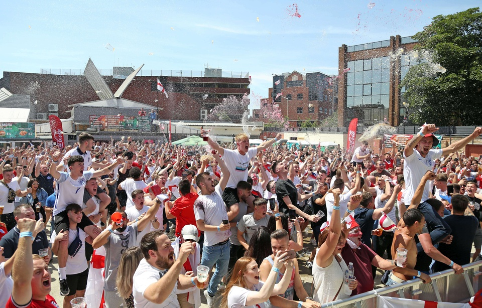 Coupe du Monde : quand la folie s'empare des bars anglais…