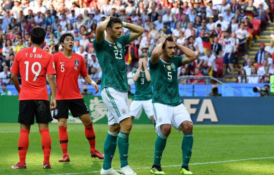 Coupe du Monde : on revient sur l'élimination laborieuse de l'Allemagne
