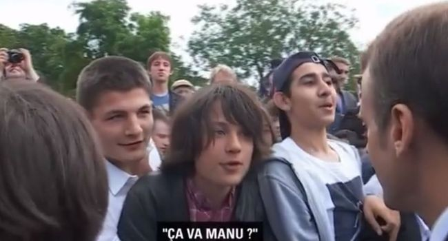 «Manu» : le collégien qui a interpellé Macron, au fond du trou